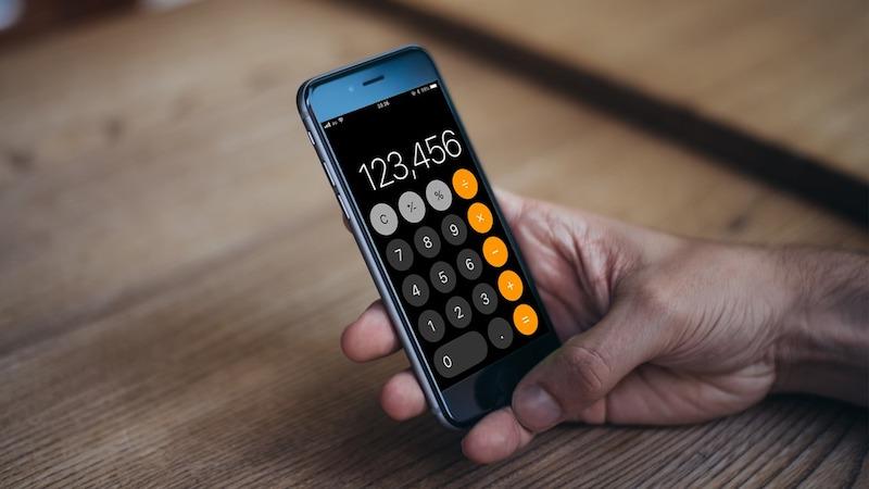 iPhone 電卓