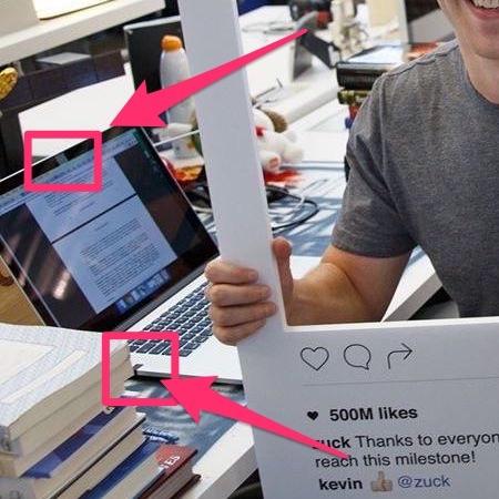 マーク・ザッカーバーグのノートパソコン
